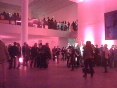 MoMA Armory party still going strong!