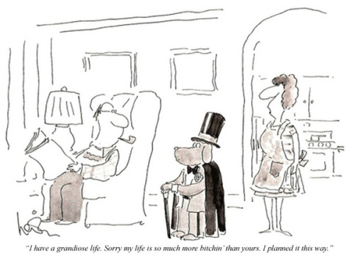oldfilmsflicker:  Charlie Sheen Quotes As New Yorker Cartoons  Bitchin.