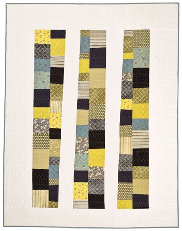 traciturchin:  Stacking the Odds Quilt Pattern  I LOVE THIS. Everything about it. The color. The simplicity. Love it.