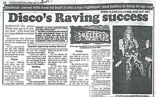 classof808:  Newspaper cutting: Disco's Raving Success