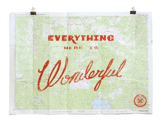 The husband just ordered this Yellowstone topographic map from Best Made Co and, of course, had to get the felling axe too in preparation for the day we build that cabin in Montana.  Check out the video Remington Fells a Tree for inspiration.