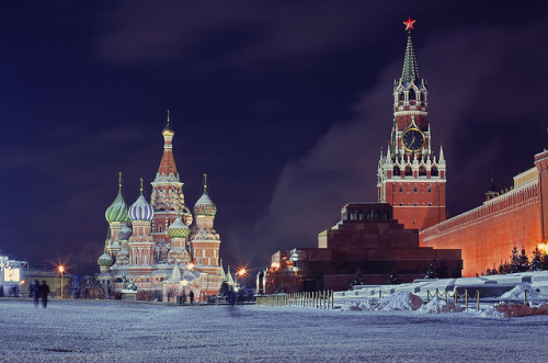 Red Square, Moscow, Russia (by Alexander)