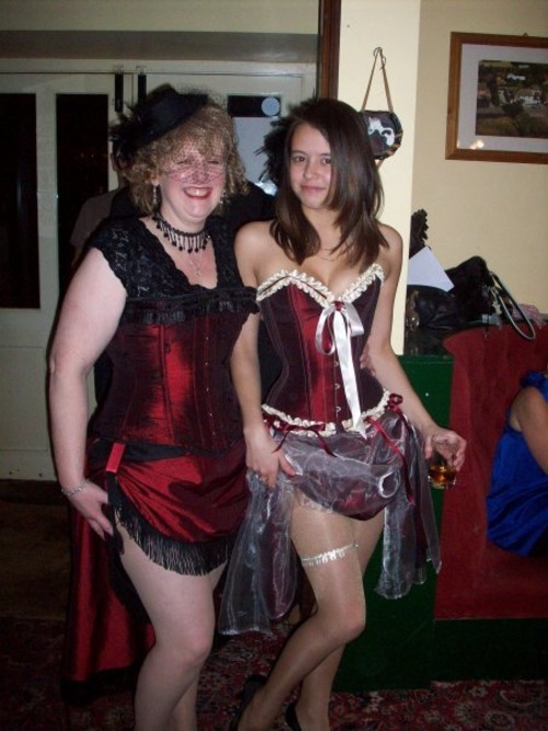 In our FairyGothMother corsets