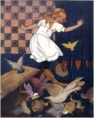 Margaret Tarrant ~ from Alice's Adventures in Wonderland ~ 1916 ~ via