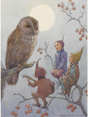 "Margaret W Tarrant ""A Carol for Brown Owl"""