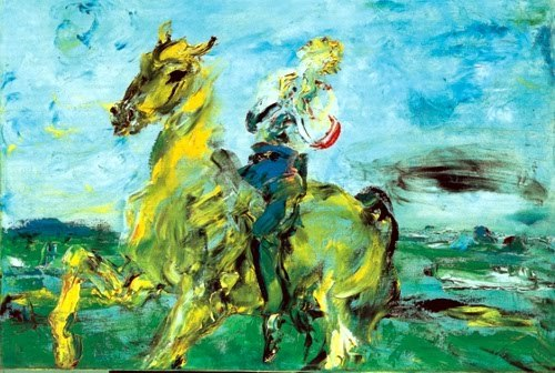 The Knight Who Sings, Jack Butler Yeats.
