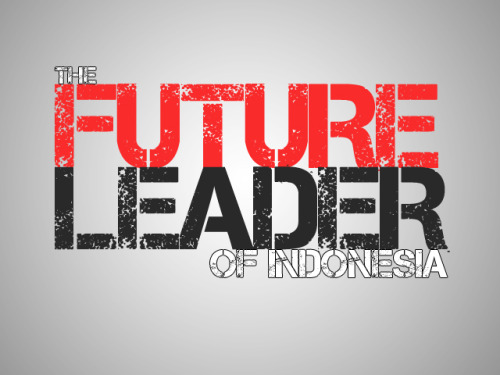 "Are you a Leader? Why we must be a Leader?Hey wake up Brother/Sister!Leader  bukan cuma julukan untuk orang yang memiliki Jabatan Tinggi ataupun orang yang  Berpengaruh dalam suatu Bidang ataupun Kekuasaan, cepat atau lambat sadar  ataupun tidak, Leader it's mean Our Self!Bukan hanya me-Lead diri  sendiri, tapi juga karena kita sebagai Generasi Muda adalah Generasi Penerus yang  akan menggantikan Pimpinan"" saat ini. So, you still refuse the truth for  admit is that you, yourself is a Leader! So, because of that reason, we provide you the shirt that will motivate you always, and its begin from now! First Edition of Quotes: The Future Leader of Indonesia. Only IDR 65.000. Come! Grab it fast! :)"