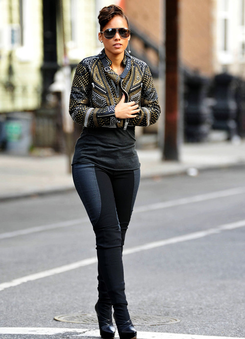 HAUTE jacket worn by Alicia Keys!