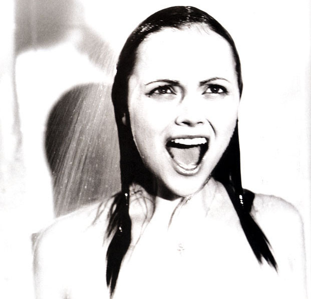 bohemea:  Christina Ricci as Janet Leigh in Psycho - Premiere by Norman Jean Roy, March 2003