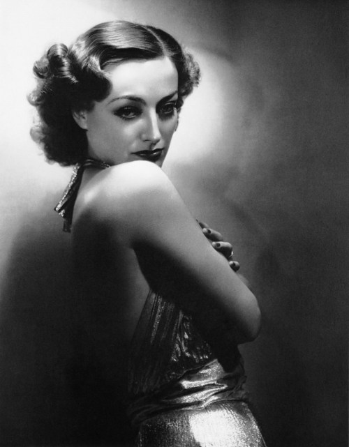 Referring to the trendsetting makeup styles Joan Crawford initiated in the early 1930s, which replaced the genteel prettiness of the 20s with a more sculptured, mature look, Crawford remarked, 'Everybody imitated my fuller mouth, my darker eyebrows. But I wouldn't copy anybody. If I can't be me, I don't want to be anybody. I was born that way.'