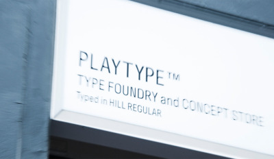At the start of the month, Type Foundry E-Types opened up a concept store, where they can sell their typefaces and accompanying merchandising in a physical store. Mugs and prints also available, the main product being sold is typefaces on usb sticks, to be loaded onto computers when customers get home. The store can be found in Copenhagen, Denmark, and is open for one year. Check out more photos here.