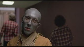 The Hare Krishna zombie from Dawn Of The Dead