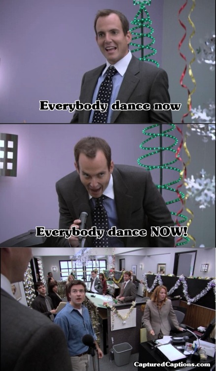 capturedcaptions:  Arrested Development - Everybody dance NOW - S2E6 Captured Captions
