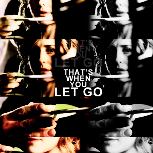 Chloe: How will I know when to let go?Oliver: It's all about your heart. Just listen. Right there between the beats. That's when you let go.