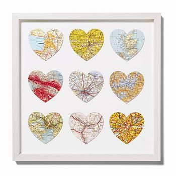 Love Cartography: Heart Maps | Tickety Boo