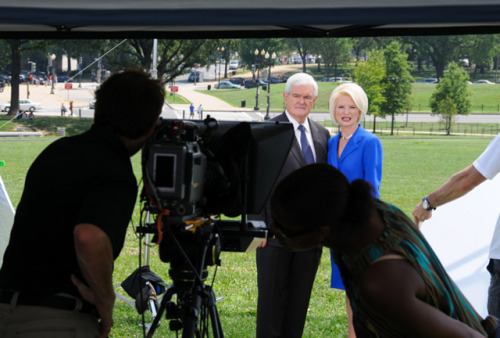 Newt Gingrich's Awkward Prom Photo Guess this one didn't make the cut for his website.