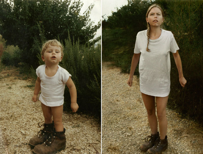 A really cool project by photographer Irina Werning, where she obsessively recreates childhood photos decades later. Impressive attention to detail.