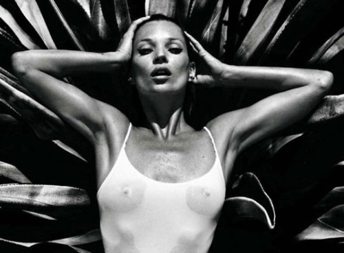 Kate Moss by Mario Sorrenti for Vogue Homme International.
