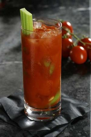 On a recent cruise, I grew to love Bloody Mary's. Before that, I wouldn't touch them. But there was something about sitting pool side on a lazy afternoon that craved the complex refreshing taste of  these savory drinks. I hope you enjoy this week's Che Belle Cose Cocktail, a version of a Bloody Mary, as much as I do! Bloody Mary 2 oz Vodka6 oz V8 Juice1 tsp Horseradish1/2 tsp fresh Lime Juice4 dashes Tabasco Sauce4 dashes Worcestershire Sauce1 pinch Peppers1 pinch Celery Salt2 whole, pitted green olives1 celery stalkAdd several ice cubes to a highball glass, grind some pepper on top and add some celery salt to make seasoned ice cubes. Add all ingredients to a cocktail shaker half-filled with ice cubes, and shake well. Strain the mixture over the ice cubes in the highball glass. Squeeze a lime slice over the drink and drop it in the glass. Skewer green olives and float on top with a celery stalk.