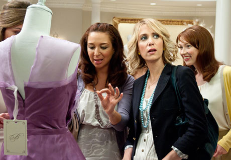 Bridesmaids (2011) | dir. by Paul Feig  I don't know how to categorize it except that Judd's movies have more  heart in them and are less cheesy. [Most female comedies] are either  indie, like Nicole Holofcener and Lisa Cholodenko, or they're right down  the middle, like Sandra Bullock. This serves the audience that's right  between those two things. Producer Barry Mendel on Bridesmaids