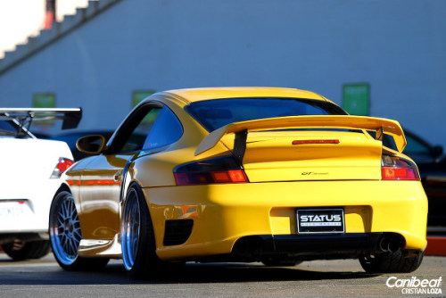 Flossed out Porsche on bbs lm's. -Stancelife