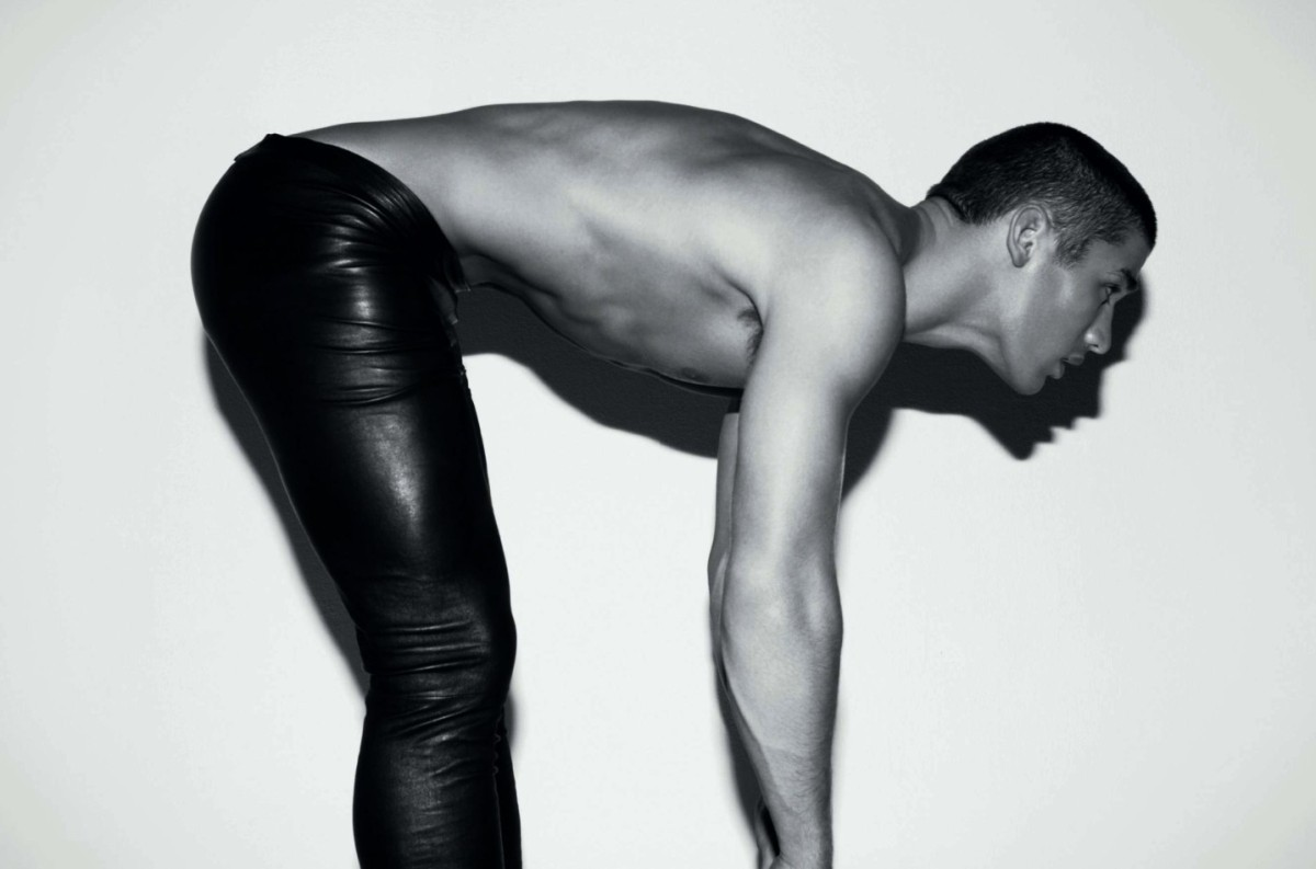 ASSUME THE POSITION -  (Kerry Degman by Milan Vukmirovic - L'Officiel Hommes #13)