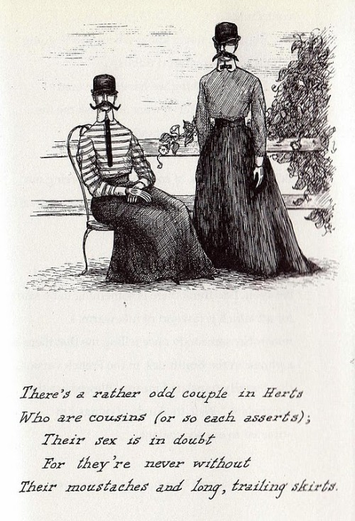 didine:   by Edward Gorey