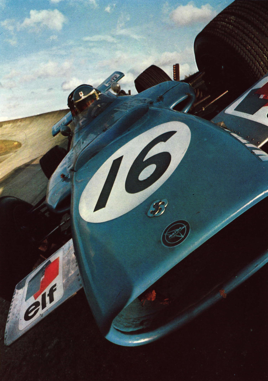 sharonov:  1969 Matra MS84 4 Wheel Drive  #throwback
