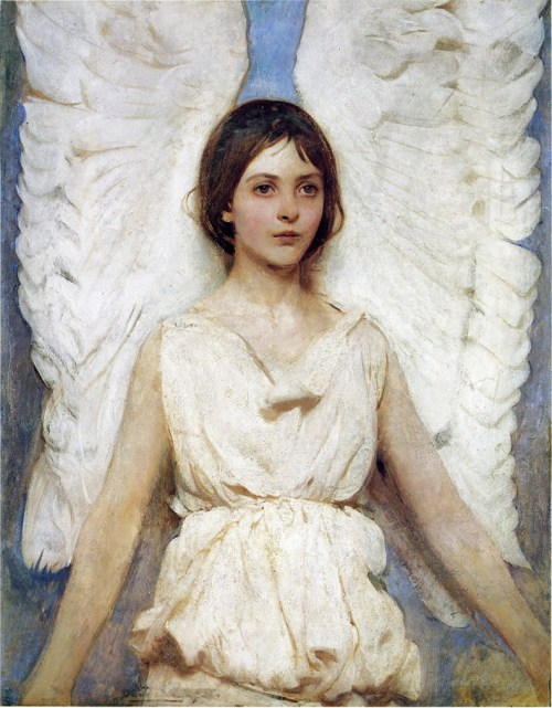 Angel, Abbot Handerson Thayer. 1889