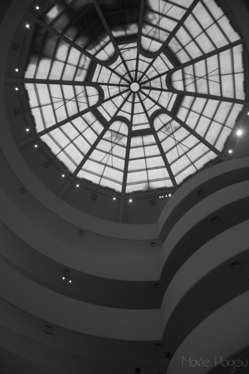 The Guggenheim in New York.