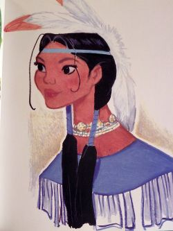 fuckyeahdisneyconcept:  Pocahontas submitted by Alexandria Source: The Art of Pocahontas