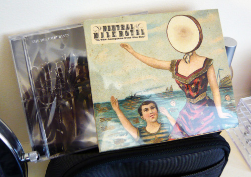 The Decemberists - The Hazards Of Love CDNeutral Milk Hotel - In The Aeroplane Over The Sea CD