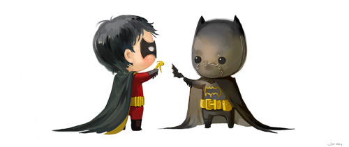 Batkids (Tim&Cass) by JenZee