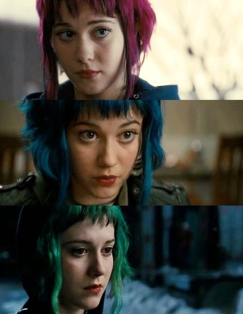 Todas as cores da Ramona Flowers.