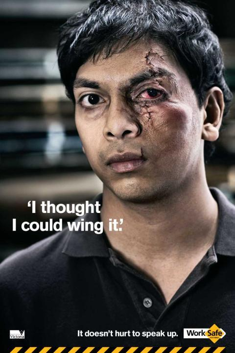 It doesn't hurt to speak up. (work safe project)
