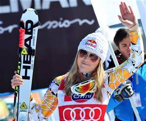 Vonn clinches 4th consecutive downhill title - Sports- NBC Sports