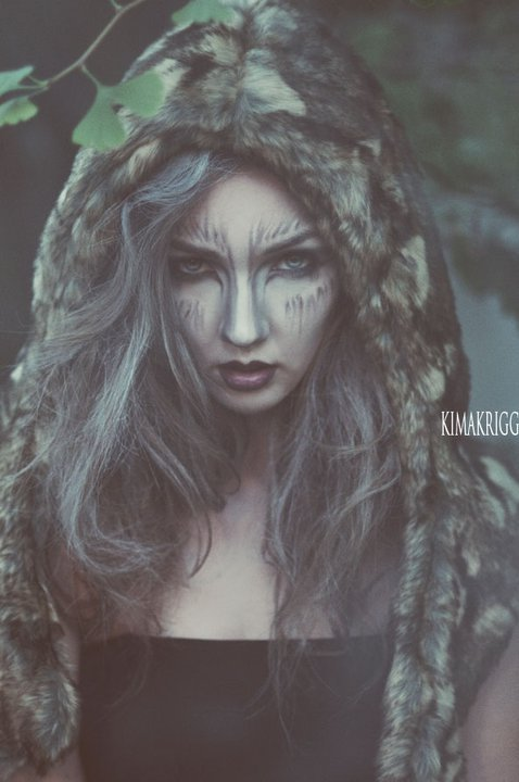 Warewolf. photography. kim akrigg model. nicole with trisko talent makeup. jess jennings