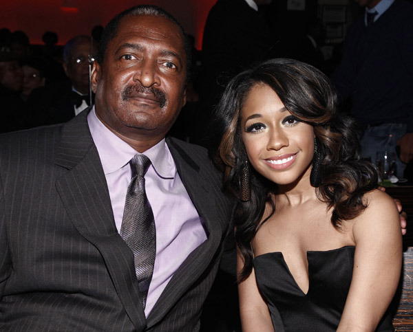 Matthew Knowles x Tiffany Evans.