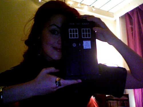 bollywoodgaga:  Ladies and gentleman.. I have a TARDIS!  This, dear friends, is Elizabeth aka Bollywoodgaga. You should follow her. Sweet, smart, and geeky. And she will ruin your life with her perfection.