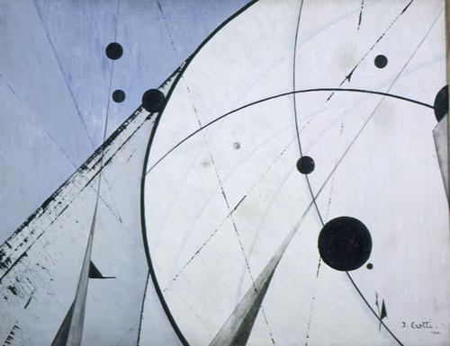 THE BLUE LANTERN: Inventions Of The March Hare Jean Crotti -Cosmic Voyage, 1922 , Musee d'Art moderne de la ville de Paris.