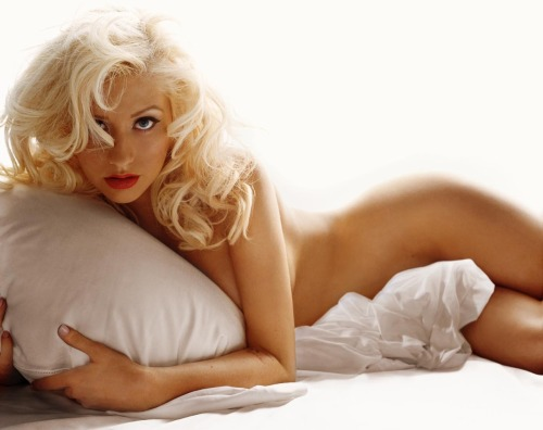 bohemea:  Christina Aguilera as Madonna by Michael Thompson