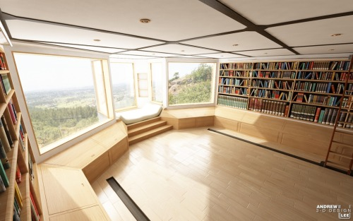 oke,wish me luck to have this home library in my future home later
