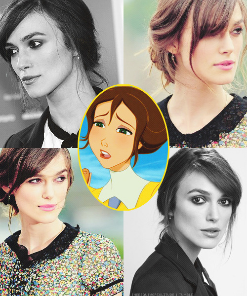 thebeautyofsolitude:  Disney Females Live-Action Dreamcast ★ Keira Knightley as Jane  She could totally pull this off.