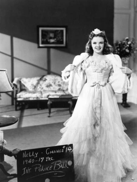Judy Garland - wardrobe test for Little Nellie Kelly 1940