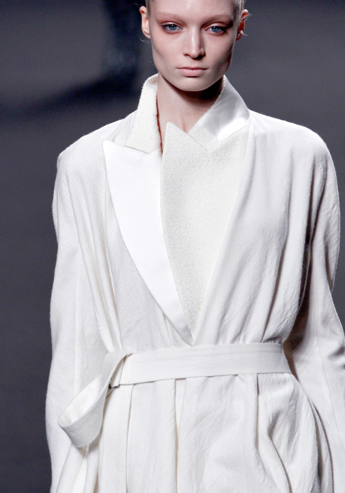 Melissa at Haider Ackermann A/W 2011.