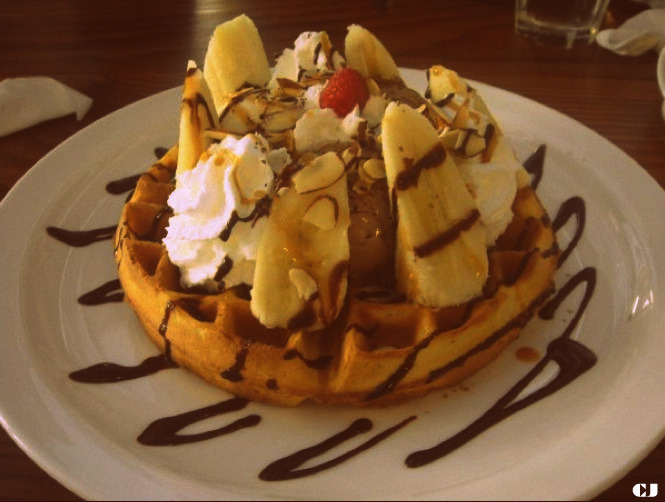 So yeah basically you can have these waffle types in Korea…