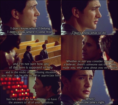 I don't know where I belong. [Kyle XY]