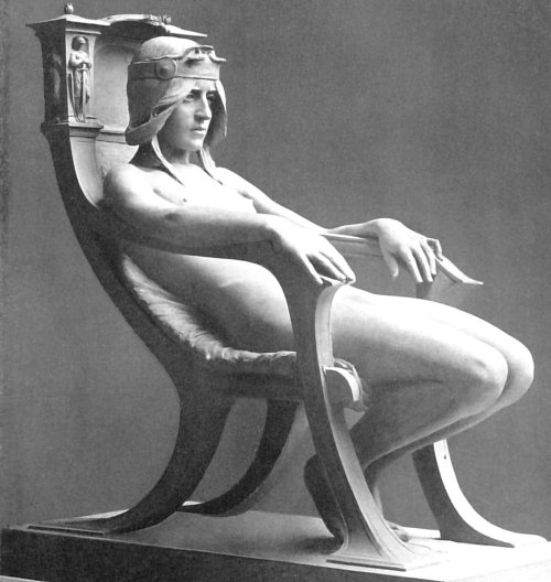 gaglioffo:  Albert Toft, The Spirit of Contemplation, 1901