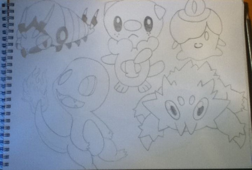 Some Pokemon that I like you evil people that don't like them Grr