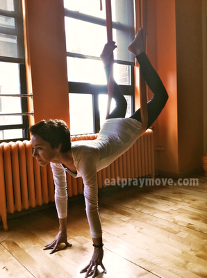 "eatpraymove:  new yoga blog post: ""Hanging Upside-Down in the Big Apple"""